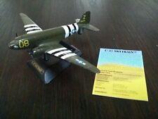 1:400 scale C-47 Skytrain Die-cast metal w/ stand & info card