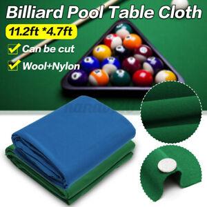 7.87ftX4.7ft Billiard Tablecloth Cover Snooker Pool Table Cloth Felt Protector
