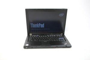 Lenovo ThinkPad T61 Core 2 Duo 1.80GHz 4GB RAM 500GB HDD 14.1'' Win7 Laptop