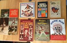 Lot of 7 Baseball Books Mostly From 1970s and 1980s (see pictures) Plimpton