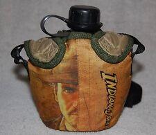 2008 Indiana Jones Canteen, Cover, Strap - Kelloggs Promo Collectible