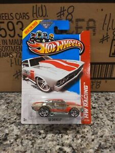 2013 Hot Wheels #137 HW Racing '69 CHEVELLE Clear wo/RollCage Variation w/Pr5 Sp