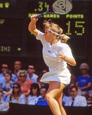 Tennis Champion STEFFI GRAF Glossy 8x10 Photo Print 1991 Wimbledon Poster