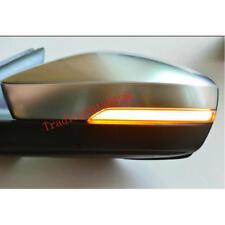 For Skoda Octavia Mk3 2015-2018 Side Wing Mirror LED Dynamic Turn Signal Light