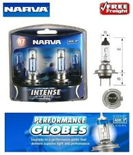 Narva H7 Intense Maximum Legal Blue Bulbs Bright White Light Globes & T10 Parker