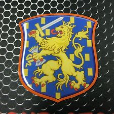 "Holland Coat of Arm Shield Dutch Netherland Proud Domed Decal Emblem Sticker ~3"""