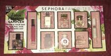 Sephora Favorites Deluxe Perfume Sampler 9 Mini Bottles NO CERTIFICATE NEW
