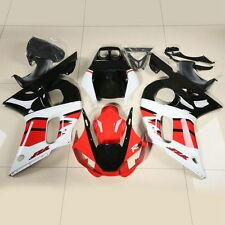 Red White Black Fairing Bodywork Kit Fit YAMAHA YZF R6 1998-2002 2001 2000 1999