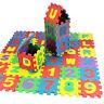 36pcs Baby Kids Alphanumeric Educational Puzzle Blocks Infant Child Toy Gift ki