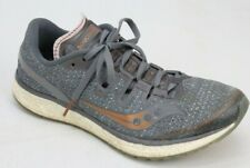 Saucony Everun Freedom ISO Womens Running Sneakers Shoes Size 8 Gray Lace Up