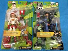 Bluntman (Silent Bob) and Chronic (Jay) Action Figures - Graphitti - Kevin Smith