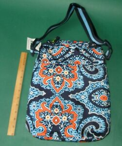 Vera Bradley Lighten Up Double Cooler Wine Lunch Box Marrakesh New with Tag