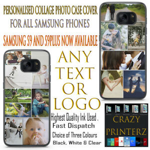 Personalised Custom Collage Printed Rubber / Hard Plastic Protection For Samsung