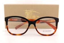 Brand New BURBERRY Eyeglass Frames BE 2252 3632 Black/Havana For  Men Women