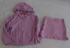 Gymboree 4 5 Girls Outfit Skirt  Hooded Jacket Romantic Garden PLAY