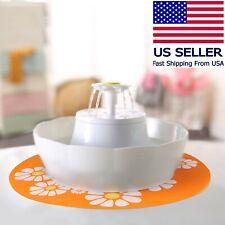 Wonder Creature Lotus Pet Water Fountain Bowl - Cat/ Dog 2.5L w/ Filter & Light