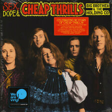 Janis Joplin & Big Brother - Sex Dope Cheap Thrills 2 x LP Vinyl Album RECORD