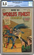 World's Finest #71 CGC 2.5 1954 1296350014 1st joint app. of Superman and Batman