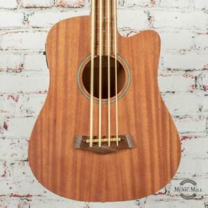 Goldtone M-Bass FL 23-Inch Scale Fretless Acoustic-Electric MicroBass Natural x0