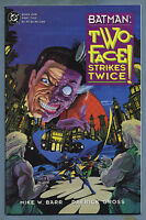 Batman Two-Face Strikes Twice #1 1993 Flip-Book Prestige Format DC Comics v