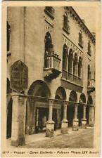 1930 Vicenza - Corso Umberto Palazzo Thiene XV secolo esterno - FP B/N VG