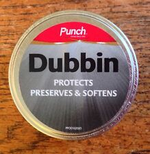 PUNCH ACTIVE DUBBIN SHOE & BOOT POLISH PROTECTS PRESERVES & SOFTENS