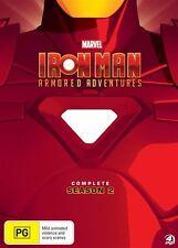 Iron Man Armored Adventures : Season 2 (DVD, 2013, 4-Disc Set)