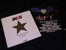 Inxs *Eight 12x12 1997 Anthology Promotional Cardboard Poster Flats!