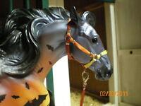 Jaapi Halloween Halter made to fit Breyer NOSFERATU