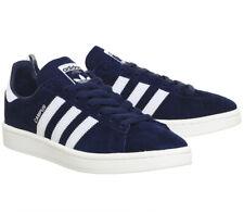 Adidas Campus Men's BZ0086 Dark Blue / White Trainers Size UK 10.5 EUR 45 1/3
