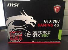 Nvidia MSI Geforce GTX 980 GAMING 4G Twin Frozr-V OC edition (SLI Ready)