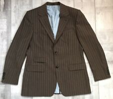 9bc4961c BOSS hugo boss GABLE/VEGAS GUABELLO WOOL & MOHAIR STRIPED BLAZER ITALY ...