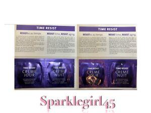 Yonka Time Resist Creme Jour, & Nuit samples. Set of 2! NEW! FRESH! SEALED!