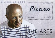 Ghana 2001 bloque 403 S/s 2214 pablo picasso painter pintor arte tipo mnh