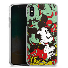 Apple iPhone Xs Silikon Hülle Case - Mickey Muse
