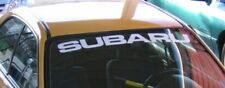 Subaru Banner Windshield Decals Car Sticker STI WRX BRZ Turbo