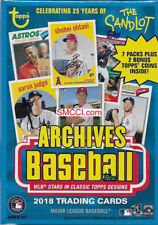 2018 Topps ARCHIVES Baseball Sealed Blaster Box of Packs Retail Exclusive COINS