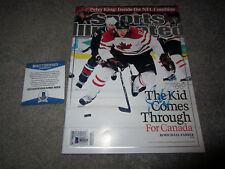 SIDNEY CROSBY Team Canada Olympic SIGNED SPORTS ILLUSTRATED Magazine w/ BAS COA