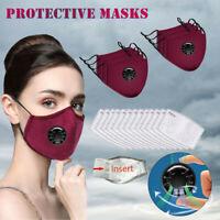 Máscaras multicolores máscaras de algodón unisex ES