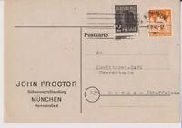 Bizone/Bauten/Band-Netz, 78 W B MiF 36I, München 3.9.48