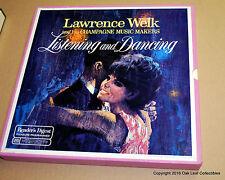 "LAWRENCE WELK ""Listening & Dancing"" 8 LP BOX SET Readers Digest 1968"