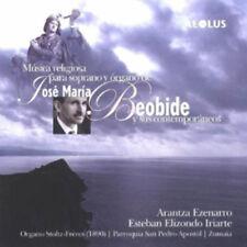 Arantza Ezenarro : Musica Religiosa Para Soprano Y Organo... CD (2010)