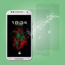2x Verre Blindé Transparent Pour Motorola Moto X 2014 (2. Gen)