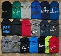 Men's Nike Therma Polyester Pullover Hoodie