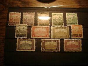 Briefmarken Ungarn Westungarn Mi.Nr. 20-31 ** MNH