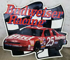 1995 Budweiser Racing Ken Schrader #25 Embossed Tin Sign Garage,Man Cave?