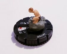 Heroclix Lord of the Rings set Gollum #015 Uncommon figure. Pre-owned No Card