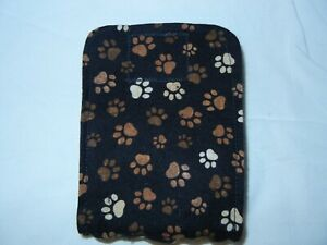 """Dog Puppy Belly Band Wrap SMALL Diapers Male Puppy Flannel lined 10.5"""" 11.5"""" MSC"""