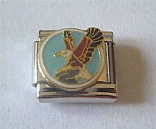 9mm Classic Size Italian Charms   E149 Flying Bird Eagle