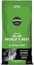 New listing World's Best Cat Litter Clumping Litter Formula 28-Pounds